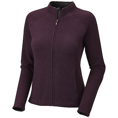 On Sale. Free Shipping. Mountain Hardwear Women's Sarafin Cardigan DECENT FEATURES of the Mountain Hardwear Women's Sarafin Cardigan Two front hand pockets Full front zipper with chin guard for comfort Flat-lock seam construction eliminates chafe The SPECS Average Weight: 14 oz / 389 g Center Back Length: 24.5in. / 62 cm Body: Dihedral Birdseye Jersey (40% reclaimed wool, 40% polyester, 18% nylon, 2% other) Panel: Dihedral Rib II (43% polyester, 19% wool, 19% reclaimed wool, 17% nylon, 2% other fibers) - $71.99