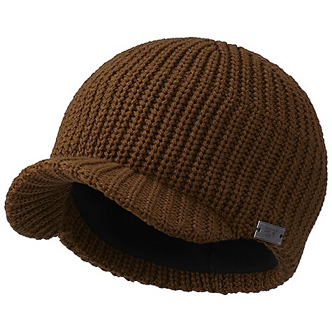Entertainment Mountain Hardwear Peat Beanie DECENT FEATURES of the Mountain Hardwear Peat Beanie 100% acrylic provides warmth and durability Recycled polyester microfleece-lined ear band for comfort 2in. brim for full face coverage Soft and comfortable Warm and cozy The SPECS Average Weight: 3 oz / 93 g - $31.95