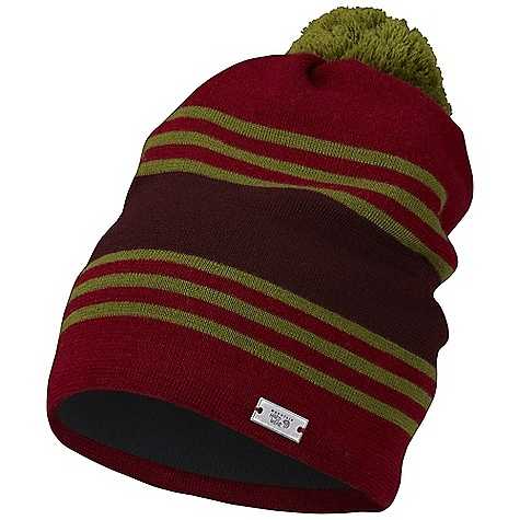 Entertainment Mountain Hardwear Freddie's Beanie DECENT FEATURES of the Mountain Hardwear Freddie's Beanie 100% wool provides ample warmth and insulates when wet Recycled polyester microfleece-lined ear band for comfort Soft and comfortable Warm and cozy Pom at top of beanie The SPECS Average Weight: 3 oz / 86 g Body: 100% Wool (100% Wool) - $31.95