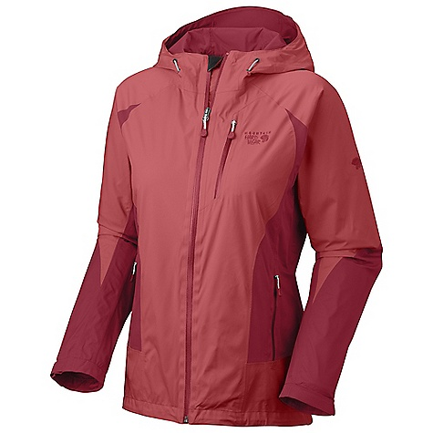 Free Shipping. Mountain Hardwear Women's Aquari Jacket DECENT FEATURES of the Mountain Hardwear Women's Aquari Jacket Fully adjustable, attached hood Pit zips for quick ventilation Adjustable cuff and hem Interior zip pocket for keys, ID, other small items Water-resistant zips throughout Zip handwarmer pockets Micro-Chamois -lined chin guard prevents zipper chafe The SPECS Average Weight: 1 lb 6 oz / 611 g Center Back Length: 28in. / 71 cm Body: 2L mountain Shell (100% polyester) - $324.95