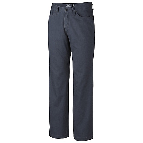 Free Shipping. Mountain Hardwear Men's Passenger Pant DECENT FEATURES of the Mountain Hardwear Men's Passenger Pant Five pocket styling One rear pocket has zip closure to secure valuables The SPECS Average Weight: 1 lb 7 oz / 640 g Inseam: 30, 32, 34in. / 76, 81, 86 cm Body: Passing Stretch Twill 97% cotton, 3% elastane - $79.95