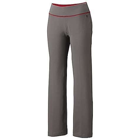 Free Shipping. Mountain Hardwear Women's High Step Pant DECENT FEATURES of the Mountain Hardwear Women's High Step Pant Updated style lines, leg opening, and trim details Flat-lock seam construction eliminates chafe Wide low-profile waistband for comfort The SPECS Average Weight: 11 oz / 304 g Apparel Fit: Semi-Fitted Inseam: 30.5in. / 77 cm Body: V6 Stretch Jersey (90% cotton, 10% elastane) - $64.95