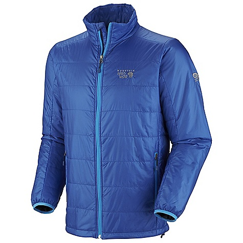 Free Shipping. Mountain Hardwear Men's Thermostatic Jacket DECENT FEATURES of the Mountain Hardwear Men's Thermostatic Jacket Two front handwarmer pockets Dual hem drawcords for quick fit adjustments Low profile elastic cuffs for easy layering Jacket stows in pocket The SPECS Apparel Fit: Standard Average Weight: 9.5 oz / 269 g Center Back Length: 28in. / 71 cm Body: 15d ripstop (100% nylon) Insulation: 60g thermic Micro tk - $179.95
