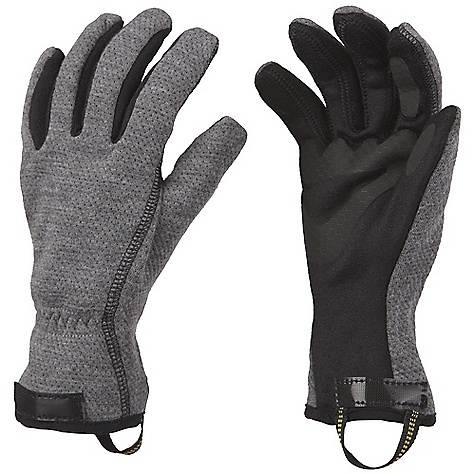 Entertainment Free Shipping. Mountain Hardwear Women's Echidna Glove DECENT FEATURES of the Mountain Hardwear Women's Echidna Glove Q.Shield is an advanced water repellency permanently fused into shell fabrics to prevent water from soaking in Designed to fit a woman's smaller hand proportions in.Extreme Precurvein. patterning with Kevlar stitching provides unprecedented fit and dexterity OutDry Waterproof Technology: extremely waterproof, totally windproof. The OutDry membrane is directly bonded to the glove's outer shell, eliminating the ability for wind and water to penetrate through the sewn seams of the shell, keeping hands warmer 4-Way stretch nylon soft shell fabric offers a snug, flexible fit Water-resistant goatskin leather palm with goatskin reinforcements at the palm and fingers Removable wool/poly blend liner glove SimpleCinch one-handed guantlet closure with Cyberian cordlock seals out snow The SPECS Average Weight: 8.1 oz / 230 g Body: 4-Way Stretch Nylon Softshell (92% nylon, 8% elastane) Laminate: OutDry Waterproof Technology Lining: Brushed Tricot (100% Polyester) Liner: Plated Wool Poly (50% Wool, 28% Polyester, 22% Nylon) Palm: Water-resistant Goatskin Leather - $154.95