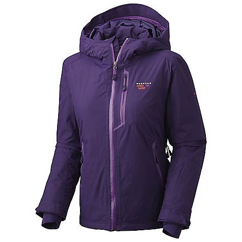 On Sale. Free Shipping. Mountain Hardwear Women's Luma Jacket DECENT FEATURES of the Mountain Hardwear Women's Luma Jacket Attached, adjustable, helmet compatible hood Removable, adjustable, stretch powder skirt Pit zips for additional ventilation Plenty of interior pockets for all your gear Zippered handwarmer pockets One-handed hood and hem drawcords for quick adjustments Micro-Chamois-lined chin guard eliminates zipper chafe The SPECS Average Weight: 1 lb 14 oz / 850 g Center Back Length: 27in. / 69 cm Body: 2L Dobby (100% nylon) Insulation: 100g Thermic Micro - $298.99