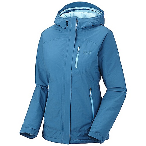 Free Shipping. Mountain Hardwear Women's Sooka Jacket DECENT FEATURES of the Mountain Hardwear Women's Sooka Jacket Attached, adjustable insulated hood Pockets set high and out of the way from harness and pack straps Adjustable cuffs for fit options Dual hem drawcords for quick fit adjustments New design Soft, in.Butter Jerseyin. cuffs Interior zip pocket stores ID, keys, other small essentials Micro-Chamois-lined chin guard prevents zipper chafe The SPECS Average Weight: 1 lb 10 oz / 737 g Center Back Length: 28.5in. / 72 cm Body: 2L Rebar Rip (100% nylon) Insulation: 80g Thermic Micro - $349.95