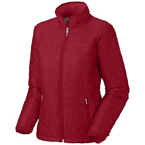 Free Shipping. Mountain Hardwear Women's Thermostatic Jacket DECENT FEATURES of the Mountain Hardwear Women's Thermostatic Jacket Two front handwarmer pockets Dual hem drawcords for quick fit adjustments Low profile elastic cuffs for easy layering Jacket stows in pocket The SPECS Apparel Fit: Standard Average Weight: 11 oz / 311 g Center Back Length: 25in. / 64 cm Body: 15d ripstop (100% nylon) Insulation: 60g thermic Micro tk - $179.95