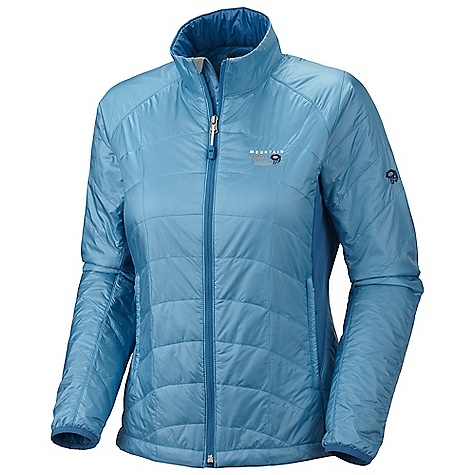Camp and Hike On Sale. Free Shipping. Mountain Hardwear Women's Zonal Jacket DECENT FEATURES of the Mountain Hardwear Women's Zonal Jacket Microclimate Zoning construction for built-in wind protection, warmth, breath ability and stretch Lightly insulated body panels and sleeves for just the right amount of warmth Stretch fleece side panels and underarms for mobility and breath ability Dual hem drawcords for quick fit adjustments New design and fabric Jacket stows in pocket Zip handwarmer pockets The SPECS Average Weight: 12 oz / 340 g Center Back Length: 25.5in. / 65 cm Body: 20D Ripstop (100% nylon) Panel: Stretch Fleece (93% polyester, 7% elastane) Insulation: Thermic Micro TK 60g - $122.99