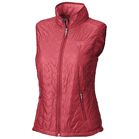On Sale. Free Shipping. Mountain Hardwear Women's Thermostatic Vest DECENT FEATURES of the Mountain Hardwear Women's Thermostatic Vest Two front hand warmer pockets Dual hem drawcords for quick fit adjustments Vest stows in pocket The SPECS Average Weight: 8 oz / 226 g Center Back Length: 24in. / 61 cm Body: 15D Ripstop (100% nylon) Insulation: 60g Thermic Micro - $89.99