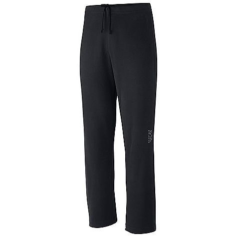 Free Shipping. Mountain Hardwear Men's MicroChill Pant DECENT FEATURES of the Mountain Hardwear Men's Microchill Pant Internal key pocket Elastic waist band Soft drawcord at waist for easy fit adjustments The SPECS Average Weight: 9 oz / 242 g Inseam: 32in. / 81 cm Body: Microchill Fleece v2.0 100% polyester - $54.95