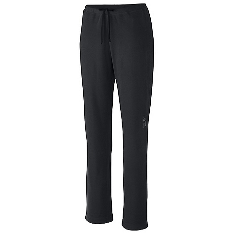 Free Shipping. Mountain Hardwear Women's MicroChill Pant DECENT FEATURES of the Mountain Hardwear Women's MicroChill Pant Internal key pocket Elastic waist band The SPECS Average Weight: 8 oz / 227 g Inseam: 32in. / 81 cm Body: Velous Micro Fleece (100% polyester) - $54.95