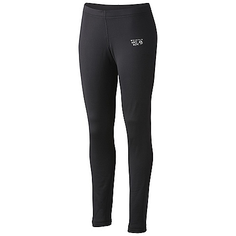Free Shipping. Mountain Hardwear Women's Stretch Thermal Tight DECENT FEATURES of the Mountain Hardwear Women's Stretch Thermal Tight Gusseted crotch Flat-lock seams for comfort The SPECS Average Weight: 7.2 oz / 204 g Inseam: 29in. / 74 cm Body: Stretch Fleece (96% polyester, 4% elastane) - $79.95