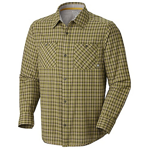 Free Shipping. Mountain Hardwear Men's McHenry L-S Shirt DECENT FEATURES of the Mountain Hardwear Men's McHenry Long Sleeve Shirt Simple button front closure Contrast stitch pops The SPECS Average Weight: 8.2 oz / 231 g Apparel Fit: Semi-Fitted Center Back Length: 29in. / 74 cm Body: Mchenry Mastif Plaid (100% cotton) - $64.95