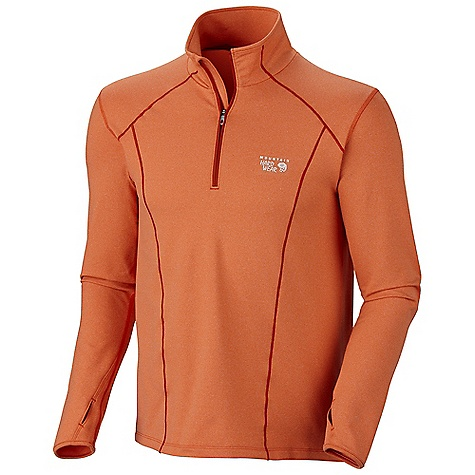 Camp and Hike Free Shipping. Mountain Hardwear Men's Beta Power 1-4 Zip DECENT FEATURES of the Mountain Hardwear Men's Beta Power 1/4 Zip Zippered back pocket for secure storage Flat-lock seam construction eliminates chafe Reflective trim for visibility The SPECS Average Weight: 11 oz / 318 g Center Back Length: 27in. / 69 cm Body: Beta French Terry 85% polyester, 15% elastane - $89.95