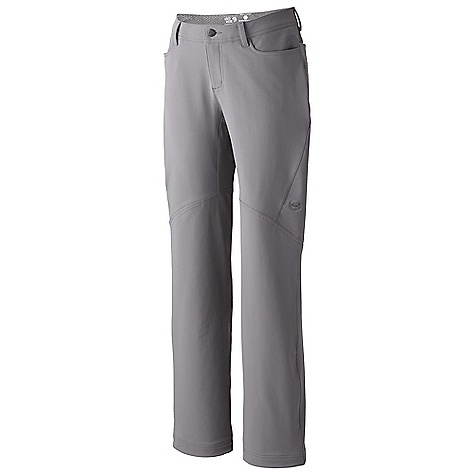 Camp and Hike On Sale. Free Shipping. Mountain Hardwear Women's Winter Wander Pant DECENT FEATURES of the Mountain Hardwear Women's Winter Wander Pant Durable, four-way stretch nylon fabric provides excellent range of motion Full-length inseam gusset for mobility Front hand pockets The SPECS Average Weight: 1 lb 1 oz / 476 g Inseam: 30, 32, 34in. / 76, 81, 86 cm Body: TufStretch (58% nylon, 31% polyester, 11% elastane) - $64.99