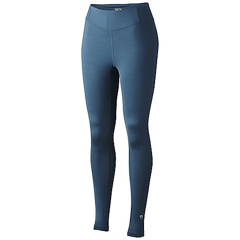 Free Shipping. Mountain Hardwear Women's Trekkin Tight DECENT FEATURES of the Mountain Hardwear Women's Trekkin Tight Wicking, fast drying, stretch fabric Flat-lock seam construction eliminates chafe Raised at back to keep lumbar warm The SPECS Average Weight: 7 oz / 208 g Inseam: 28in. / 71 cm Body: Slub Stretch Jersey (91% polyester, 9% elastane) - $59.95