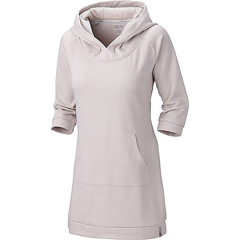 Entertainment Free Shipping. Mountain Hardwear Women's Lampira Fleece Dress DECENT FEATURES of the Mountain Hardwear Women's Lampira Fleece Dress Soft drapey hood for cozy feel Flat-lock seam construction eliminates chafe The SPECS Average Weight: 1 lb 1 oz / 488 g Center Back Length: 32.5in. / 83 cm Body: Cozy Jacquard Fleece (66% polyester, 34% cotton) - $109.95