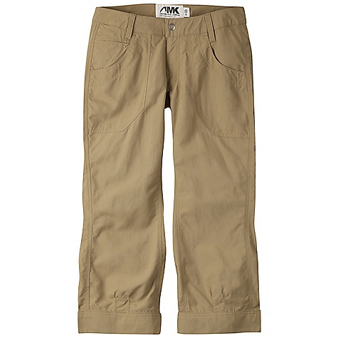 Free Shipping. Mountain Khakis Women's Granite Creek Capri DECENT FEATURES of the Mountain Khakis Women's Granite Creek Capri 6.3 oz 100% Brushed Nylon Scotchgard Treatment UVA-UVB 50+ Hidden Zip Change Pocket Zip Back Pocket Darts at Cuff Asymmetric Side Seam Contoured Waistband YKK Zippers Quick-dry, Lightweight and Packable Chain Stitch Embroidery Straight Leg, Relaxed Fit, Contemporary Rise The SPECS Waist: 0-16 Inseam: Graded: 23in. - $79.95