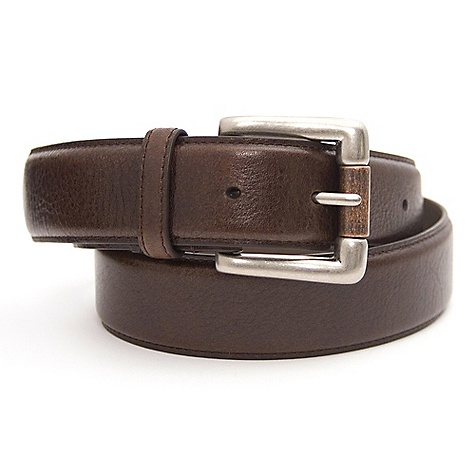 Free Shipping. Mountain Khakis Roller Belt DECENT FEATURES of the Mountain Khakis Roller Belt 100% Vegetable-Dyed, Bridle-Leather Belt Antique Brass Buckle 1 3/4in. Wide 7 Hole Punches - $49.95