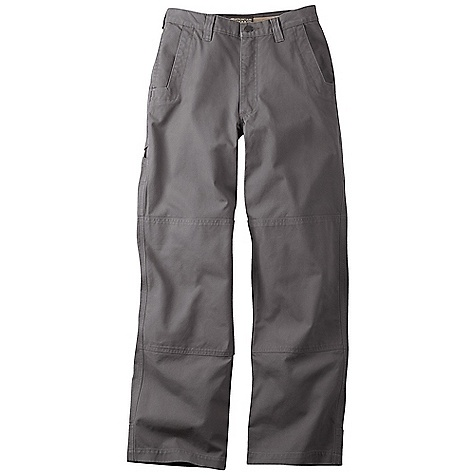 Free Shipping. Mountain Khakis Men's Alpine Utility Pant FEATURES of the Mountain Khakis Men's Alpine Utility Pant Reinforced Knee and Seat Panels Diamond-Shaped Action Gusset Reinforced Heel Cuffs 5 Pockets + Utility Pocket YKK Zipper Triple-Stitched Seams Garment Washed - $89.95