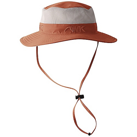 Mountain Khakis Wilson Beach Mesh Hat DECENT FEATURES of the Mountain Khaki Wilson Beach Mesh Hat 5.5oz, 60% Nylon/40% Cotton Body, 100% Polyester Mesh Panel UV-Resistant Quick-Dry Moisture-Wicking Breathable Abrasion-Resistant Adjustable Pop-Lock Drawcord Dome Performance Headband Liner Adjustable Self-Fabric Chin Cord Unstructured - $39.95