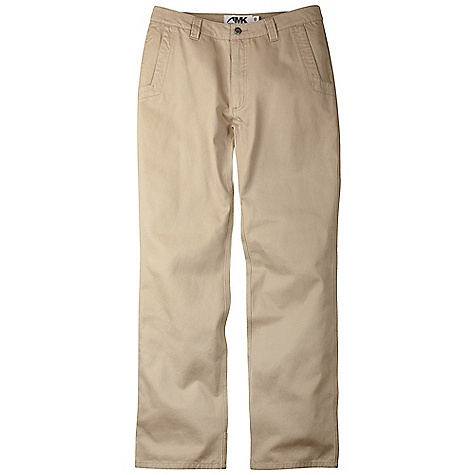 Ski Free Shipping. Mountain Khakis Men's Broadway Fit Teton Twill Pant DECENT FEATURES of the Mountain Khakis Men's Broadway Fit Teton Twill Pant 8.5 oz 100% Cotton Twill Slimmer Fit Through Thigh and Leg 5 pockets Welt Back pockets with Coconut Button Closure Diamond-Shaped Action Gusset YKK Zippers Reinforced Heel Cuffs Triple Stitched Seams Shaped Waistband Garment Washed Low Rise, Broadway Fit The SPECS Waist: 28-44 E, 31-35 O Inseam: 30in., 32in., 34in. Also: 34x36, 36x36, 38x36 - $79.95