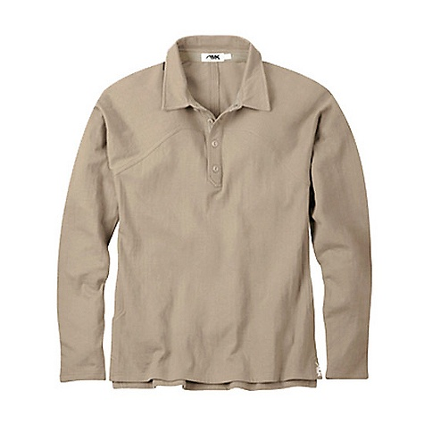 Free Shipping. Mountain Khakis Men's Trapper Collared Shirt DECENT FEATURES of the Mountain Khakis Men's Trapper Collared Shirt 8.8 oz 90% Cotton/10% Polyester Interlock Pointelle 4-Button Grosgrain- Reinforced Cotton Herringbone Front Placket Raglan Sleeves Split Tail Hem Garment Washed Casual Fit - $84.95