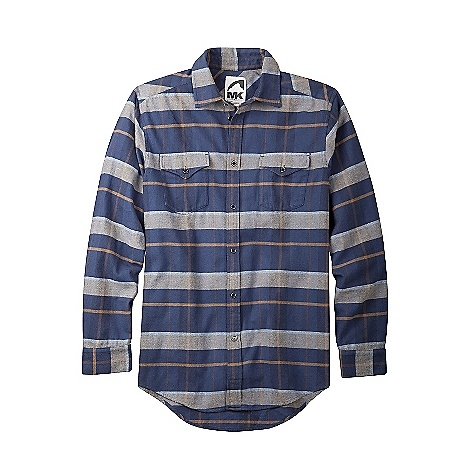 Ski Free Shipping. Mountain Khakis Men's Teton Flannel Shirt DECENT FEATURES of the Mountain Khakis Men's Teton Flannel Shirt 5 Pockets Welt Back Pockets with Coconut Button Closure YKK Zipper Inseam Action Gusset Triple-Stitched Seams Garment Washed Mid-Rise, Relaxed Fit The SPECS Waist: 28-44 E, 31-35 O Inseam: 10in. Fabric: 8.5 oz 100% Cotton Twill - $79.95