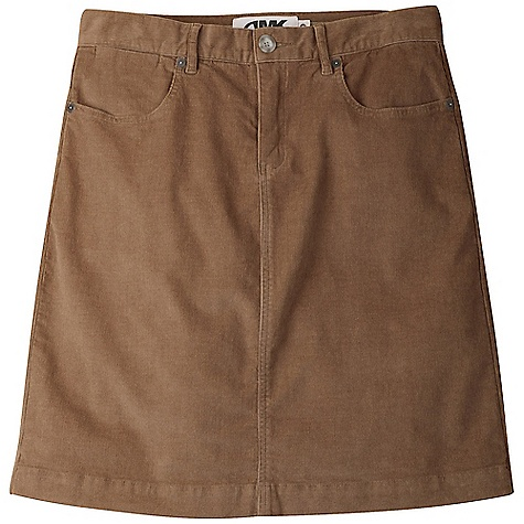Free Shipping. Mountain Khakis Women's Canyon Cord Skirt DECENT FEATURES of the Mountain Khakis Women's Canyon Cord Skirt 8.6 oz 18 Wale 98% Cotton/2% Spandex YKK Zipper Hidden Coin Pocket Set at Bottom of Waistband Back Shaping Darts 6 Belt Loops MK Lasso Branded Metal Plate Garment Washed Relaxed Fit, Feminine Flair The SPECS Waist: 0-16 Even Length: Graded: 20in. - $69.95