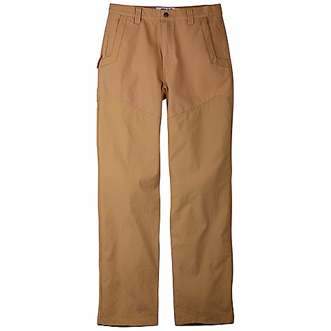 Features of the Mountain Khakis Men's Original Field Pant Body: 10.4 oz 2-ply 100% Cotton Canvas Chap: 6.1 oz 100% Nylon Chap-Style Reinforced Leg with Durable Water Repellant Extra Long Heel Cuffs 5 Pockets + Utility Pocket Diamond-Shaped Action Gusset YKK Zippers Triple Stitched Seams - $86.99