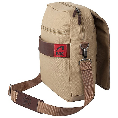 Entertainment Free Shipping. Mountain Khakis Field Bag DECENT FEATURES of the Mountain Khakis Field Bag Zippered Main Compartment with Flap Interior 15in. Laptop Sleeve Zippered Exterior Pocket Slip Pocket with Magnet Snap Closure Removable Interior Organization Panel Single Haul Handle with Leather Wrap Leather Zipper Pulls Red Flag MK Label The SPECS Volume: 14.4 liter Dimension: (H x W x D): 12.5 x 11.5 x 4in. Body: 20 oz Canvas, 18 oz Waxed Canvas Trims: 100% Leather - $149.95