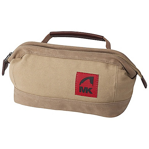 Entertainment Free Shipping. Mountain Khakis Overnight Kit Bag DECENT FEATURES of the Mountain Khakis Overnight Kit Bag Zippered Jaw Opening Main Compartment Handle with Leather Trim Zippered Closure with Leather Tabs Leather Zipper Pulls Nylon Lining for Ease of Cleaning Red Flag MK Label The SPECS Volume: 3.96 liter Dimension: (H x W x D): 6 x 10 x 5in. Body: 20 oz Canvas, 18 oz Waxed Canvas Trims: 100% Leather - $49.95