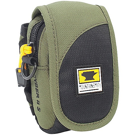 Entertainment Mountainsmith Cyber II Case - Recycled DECENT FEATURES of the Mountainsmith Cyber II Case - Recycled PE framesheet inner structure for increased gear protection and load stabilizing management Coated mesh pockets for quick media identification and security Ample waistbelt pocket organization for on the go needs Yellow Poly Fleece padded liner for easy visibility and custom modularity Belt attachment option Memory card sleeve pocket Zippered access to main compartment Microfi bre-lined and padded interior Belt attachment option Detachable shoulder strap Fast access velcro opening The SPECS 450d ReForge PET body fabric (100% Recycled) Microfi bre liner The SPECS for Small Dimension: (L x H x D): 4.5 x 3 x 1.5in. Interior Dimension: 4.25 x 2.75 x 1.25in. Weight: 3.2 oz / .09 kg The SPECS for Medium Dimension: (L x H x D): 5 x 3.25 x 1.5in. Interior Dimension: 4.75 x 3 x 1.25in. Weight: 3.5 oz / .1 kg - $17.95