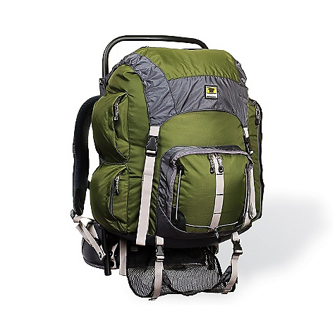 Camp and Hike On Sale. Free Shipping. Mountainsmith Youth Scout Pack DECENT FEATURES of the Mountainsmith Youth Scout Pack Air mesh back panel Elastic sternum strap and bite valve catch Fully adjustable shoulder straps with dual density foam Front pocket with elastic rigging Sternum strap safety whistle Trekking pole mounts External frame pack made with 6061 aluminum Air mesh back panel Elastic sternum strap and bite valve catch Two adjusters for effective load dispersion Compression straps with quick-release hardware Sleeping bag sling with compression straps Zippered side pockets with pass-thru sleeves The SPECS Bar tack and Hypalon reinforcements Youth Pursuit : Twin T6 1in. 6061 concave aluminum stays Youth Scout: 6061 tubular aluminum frame Fit Range: 13in. - 17in. / 33 - 43 cm Weight: 4 lbs 2 oz / 1.87 kg Volume: 3355 cubic inches / 55 liter Dimension: (L x H x D): 27 x 18 x 15in. / 69 x 46 x 38 cm Fabric: 420d Nylon Velocity body fabric, 840d Nylon Ballistic reinforcements - $87.96