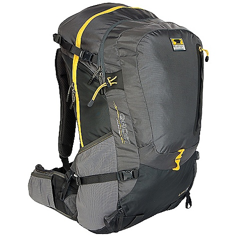 Free Shipping. Mountainsmith Ghost 50 Pack DECENT FEATURES of the Mountainsmith Ghost 50 Pack Internal Hydration Bladder 210d High Tenacity Nylon Rip Stop Ten Essentials Accessory Front Pocket Side Compression Straps with Quick Release Hardware Delta Wing Compression Waistbelt Adjustment Perforated Air-Flow Shoulder Straps with Zonal Load Dispersion Breezeway Suspension Backpaneliter Three point adjustment ladder for S/M/L torso ICS Cup waistbelt fitment Breezeway suspension backpaneliter Lumbar Control Point pad Perforated Air-flow shoulder straps with Zonal Load Dispersion padding Dual panel loader with accessory front pocket Diamond airmesh foam back panel and waistbelt with DWR anti-sweat finish Contoured PE framesheet with Spring Steel hoop for increased loadsupport Delta Wing Compression waistbelt The SPECS Fit Range: 17in. - 22in. Dimension: (L x H x D): 24 x 11.5 x 10.5in. Weight: 3 lbs 15 oz / 1.78 kg Volume: 3175 cubic inches / 52 liter Capacity: Up to 45 lbs 210d Duramax RipStop Nylon 420d Duramax Nylon 210d RipStop Liner - $189.95