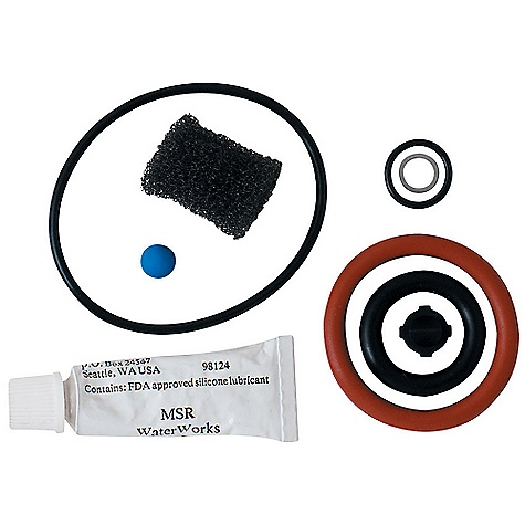 MSR Miniworks Waterworks Maintenance Kit DECENT FEATURES of the MSR Miniworks Waterworks Maintenance Kit Made in USA This product can only be shipped within the United States. Please don't hate us. - $19.95