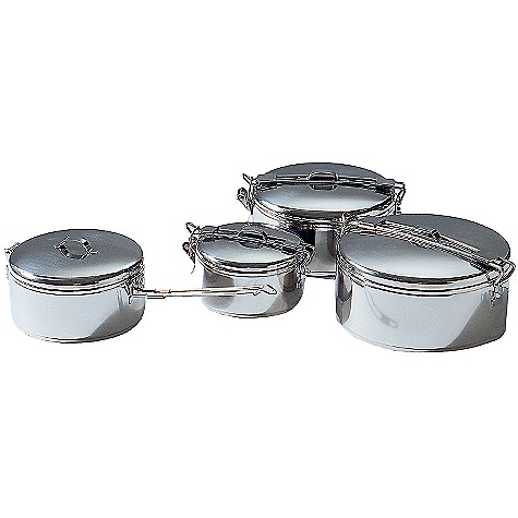 MSR StowAway 1.1L Pot DECENT FEATURES of the MSR StowAway 1.1L Pot Stainless steel with folding handles The SPECS Weight: 15.5 oz / 440 g This product can only be shipped within the United States. Please don't hate us. - $19.95