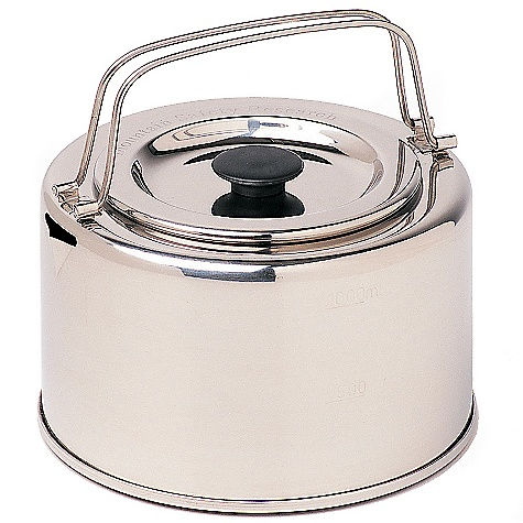 MSR Alpine 1-Liter Teapot DECENT FEATURES of the MSR Alpine 1-Liter Teapot 1L Stainless steel Teapot with lid The SPECS Weight: 9 oz / 253 g Packed Size: 5.6in. x 3.6in. / 9.2 x 14.3 cm This product can only be shipped within the United States. Please don't hate us. - $29.95