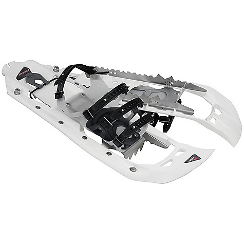 Free Shipping. MSR Evo Ascent Snowshoes DECENT FEATURES of the MSR Evo Ascent Snowshoes PosiLock AT Binding System with Pivot Crampon Unibody Frame with Modular Flotation Integrated Traction Televator with Pull The SPECS for 22 Size: 22in. / 56 cm Weight: 4 lbs 1 oz / 1845 g This product can only be shipped within the United States. Please don't hate us. - $199.95