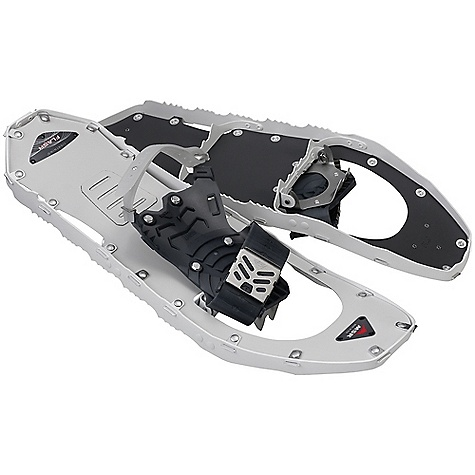 On Sale. Free Shipping. MSR Women's Lightning Flash Snowshoes DECENT FEATURES of the MSR Women's Lightning Flash Snowshoes SpeedLock Binding System with Pivot Crampon 360deg Traction Frame with Modular Flotation Optional instep strap for challenging terrain The SPECS for 22 Size: 22in. / 56 cm Weight: 3 lbs / 1374 g The SPECS for 25 Size: 25in. / 64 cm Weight: 3 lbs 1 oz / 1403 g This product can only be shipped within the United States. Please don't hate us. - $148.99