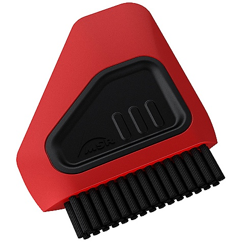 MSR Alpine Dish Brush - Scraper The SPECS Weight: .8 oz / 22 g Packed Size: 3.2in. x 2.7in. x 0.5in. / 8.1 x 6.9 x 1.3 cm This product can only be shipped within the United States. Please don't hate us. - $4.95