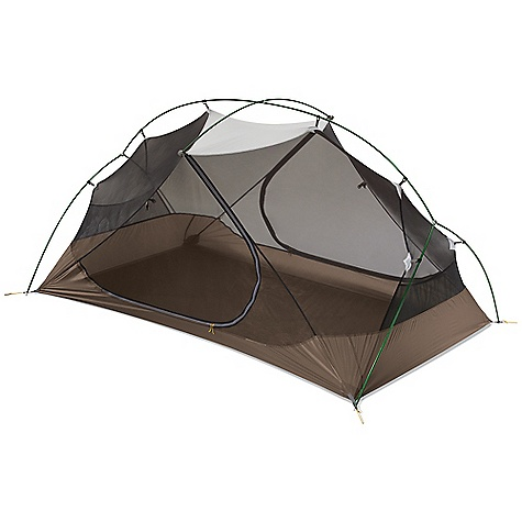 Camp and Hike Free Shipping. MSR Hubba Hubba 2 Person Tent DECENT FEATURES of the MSR Hubba Hubba 2 Person Tent Livable: Unique pole configuration provides maximum interior space, Stay-Dry entrances and large vestibules Ventilation: Mesh canopies offer excellent ventilation in warmer climates Easy Set-Up: Hub system reduces number of individual poles making setup fast Versatile: Optional, freestanding set-up with fly and footprint only, or add the new Gear Shed for added space Fast and Easy: Hub system allows all pole sections to be connected, making set up ultra-fast and easy Versatile: Freestanding set up with just fly and poles for minimalist trips Maximum Space: Two full vestibules and two door provide easy access to spacious interior The SPECS Capacity: 2 Person Doors: 2 Minimum Weight: 4 lbs / 1.83 kg Packed Weight: 4 lbs 8 oz / 2.04 kg Floor Area: 2.7 square meter / 29 square feet Vestibule Area: 1.62 square meter / 17.5 square feet Tent Volume: 43 cubic feet / 1217 liter Vestibule Volume: 19 cubic feet / 538 liter Interior Peak Height: 40in. / 102 cm Packed Size: 20in. x 7in. / 51 x 17 cm Fabric: Fly: 40 D X 238T ripstop nylon 6, 1,500 mm Durashield polyurethane and silicone coated, Canopy: 20 D X 330T ripstop nylon 66, 40 D X 238T ripstop nylon 6, Floor: 40 D x 238T ripstop nylon 6, 3000 mm Dura Shield polyurethane coated This product can only be shipped within the United States. Please don't hate us. - $329.95