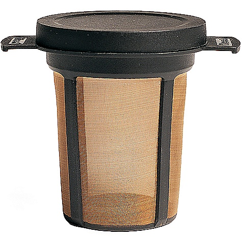 MSR MugMate Coffee-Tea Filter The MugMate Coffee/Tea Filter by MSR is for those who are not at home on the trail without a cup of rich aromatic, freshly brewed cup of joe. This coffee/tea filter is low profile enough to be stored in just about any mug or cup, and you won't have to worry about packing out soggy paper filters. The MugMate is capable of making cafe quality brew for the outdoor java junky. The SPECS Weight: 1 oz / 28 g This product can only be shipped within the United States. Please don't hate us. - $16.95