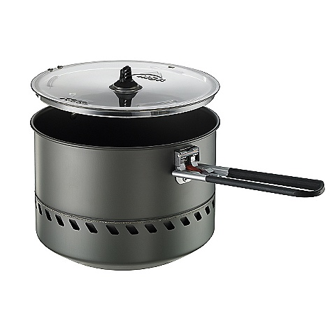 Free Shipping. MSR Reactor 2.5 Pot DECENT FEATURES of the MSR Reactor 2.5 Pot Efficient Design: Integrated heat exchanger and hard anodized aluminum maximize cooking efficiency. 2.5L Capacity: Larger capacity melts snow faster and brings the Reactor stove performance to small groups in any season. Packs Small: Pot holds Reactor stove (not included) 8 oz. fuel canister; locks in place with collapsible Talon pot handle and BPA-Free Strainer Lid. The SPECS Weight: 13.8 oz / 391 g Packed Size: 18.54 x 13.97 cm / 7.3 x 5.5 in This product can only be shipped within the United States. Please don't hate us. - $99.95
