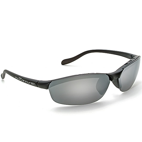 Entertainment Free Shipping. Native Dash SS Polarized Sunglasses DECENT FEATURES of the Native Dash SS Polarized Sunglasses Interchangeable Lens System Rhyno-Tuff Air Frames Venting Cushinol Cam-Action Hinges Mastoid Temple Grip Anti-Ocular Intrusion System Optic Gear Kit and Sport Flex Included - $108.95