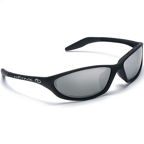 Entertainment The Silencer Polarized Sunglasses by Native Are a pretty pair of sunglasses. Get a vivid feel for your surroundings in these Native polarized sunglasses. These Native sunglasses feature Rhyno-Tuff Technology making them lightweight and durable for every demanding sport you?re running. These Native sport sunglasses may not be suitable for running the pool table, but test them on the trail or some urban terrain and you may think again. The Native Silencer sunglasses Are going to be great for sneaking up on people in the park. I can?t wait to try. Features of the Native Silencer Polarized Sunglasses Single Snap-Back Interchangeable Lens System Rhyno-Tuff Air Frames Venting System: Exhaust vents Are incorporated into the design framework to enhance airflow, and virtually eliminate fog and condensation, while strategically placed Hybrid vents and side vents (available on select models) keep frames snugger on your face without compromising Fit. This unique design feature is the only system available that allows maximum ventilation while blocking extraneous incoming light. Cushinol: Cushinol nose pads ensure a soft feel and custom Fit, regardless of nose shape or size, and Cushinol temple boots create a non-slip grip to keep sunglasses in place during athletic activity Cam-Action Hinges: This patented feature allows the temple to quickly lock into position Mastoid Temple Grip: This proprietary design feature ensures the temple ends hug the mastoid bone (behind your ears), allowing for a secure and comfortable Fit Anti-Ocular Intrusion System: This revolutionary system is designed to prevent your lenses from dangerously shooting toward your eyes in the event of an impact Optic Gear Kit and SportFlex Included Fit Profile: Medium - $94.99