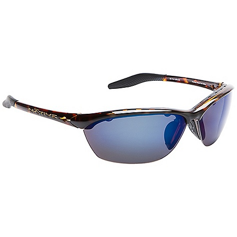Entertainment Free Shipping. Native Hard Top Polarized Sunglasses DECENT FEATURES of the Native Hard Top Polarized Sunglasses Interchangeable Lens System Rhyno-Tuff Air Frames Venting Cushinol Cam-Action Hinges Mastoid Temple Grip Anti-Ocular Intrusion System Optic Gear Kit and Sport Flex Included - $148.95