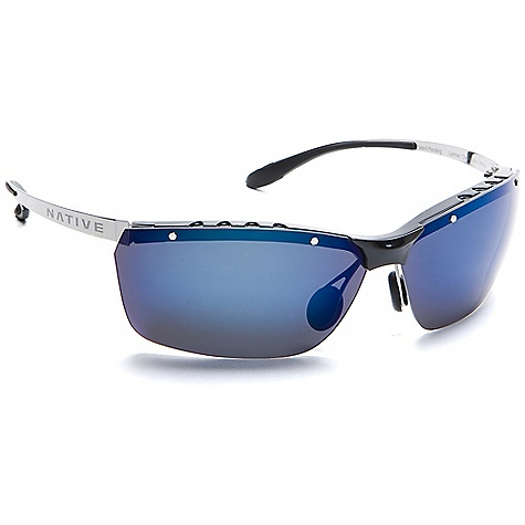 Entertainment On Sale. Free Shipping. Native Larimer Sunglasses DECENT FEATURES of the Native Larimer Sunglasses Metal Frame Rhyno-Tuff Air Frames Venting Cushinol Cam-Action Hinges Mastoid Temple Grip Anti-Ocular Intrusion System Flex Metal Adjustable Nose Pad System Optic Gear Kit Included - $94.99