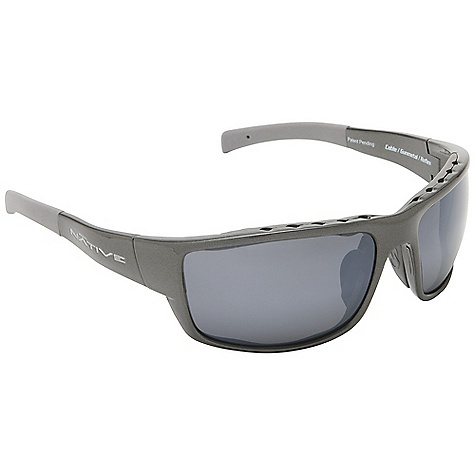 Entertainment On Sale. Free Shipping. Native Cable Sunglasses DECENT FEATURES of the Native Cable Sunglasses Single Snap-Back Interchangeable Lens System Rhyno-Tuff Air Frames Venting Cushinol Cam-Action Hinges Mastoid Temple Grip Anti-Ocular Intrusion System Optic Gear Kit and Sport Flex Included Fit Profile: Large - X Large - $76.99