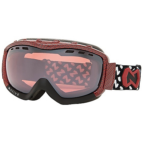 Ski Free Shipping. Native Kicker Goggles DECENT FEATURES of the Native Kicker Goggles Glide-Lok Spherical Thermal Polarized Lens Impact-Resistant PC Lens Anti-Fog Interior Coating Vented Lens Technology High-Permeability Mesh Snow Filters Face Chamber Venting Triple-Layer Contoured Face Foam Helmet Strap Extender and Adjuster Buckle Squeegee Strap Clip Sport Flex Lens Included - $138.95